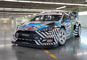 ken block ford focus rs rx