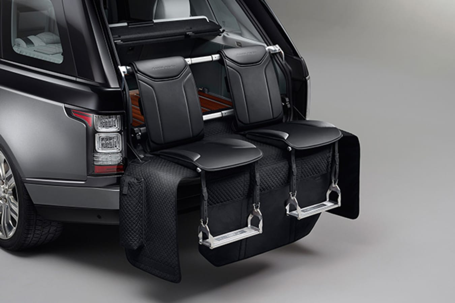 Range Rover SV autobiography tailgate seats