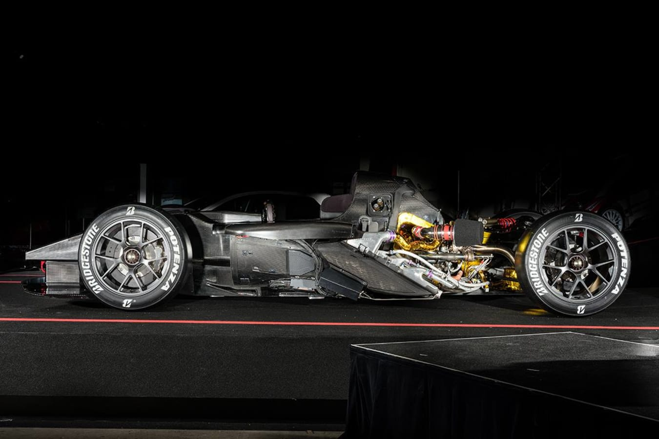 Toyota GR Super Sport chassis and drivetrain