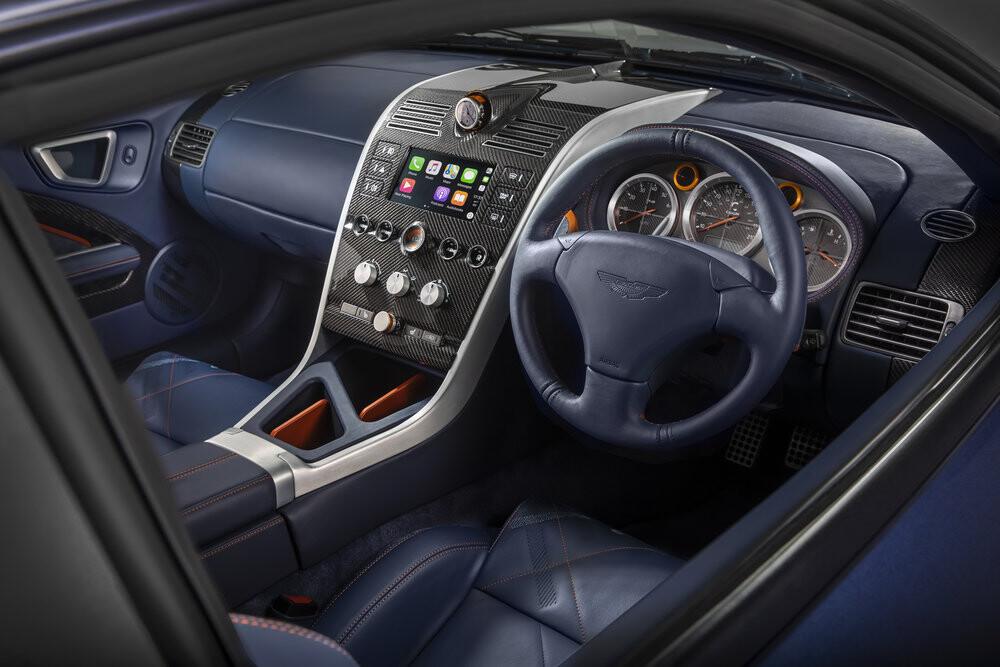 Aston Martin Vanquish Callum interior