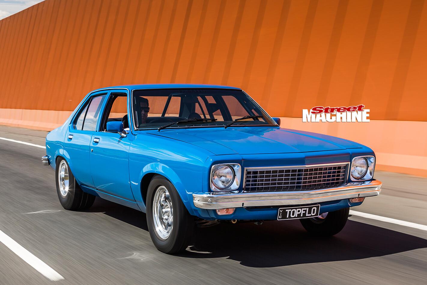 Holden -LH-Torana -onroad -front -2