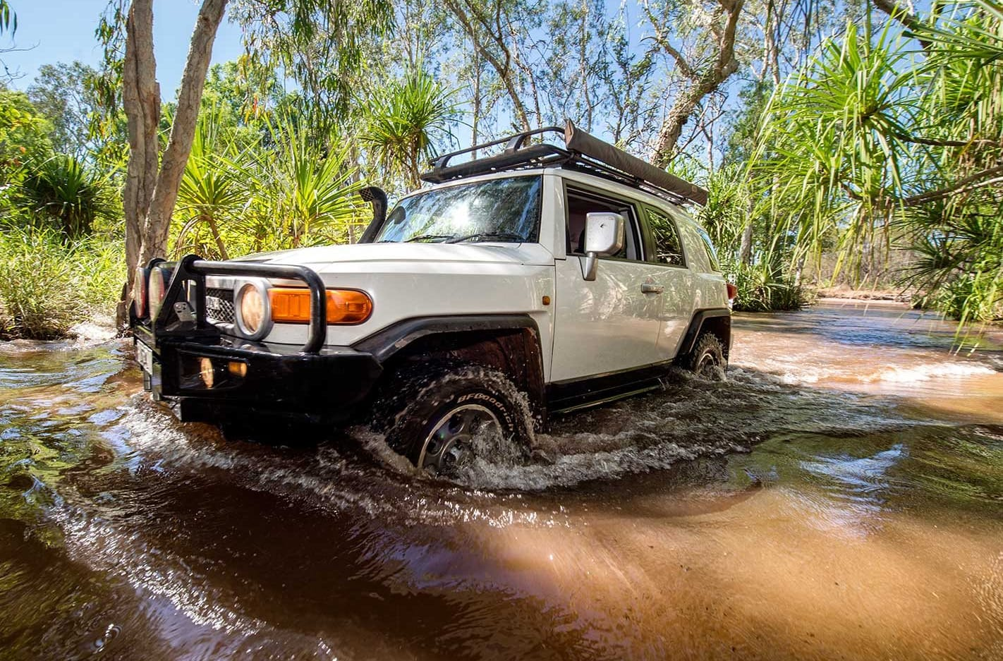 Touring the NT's Top End.