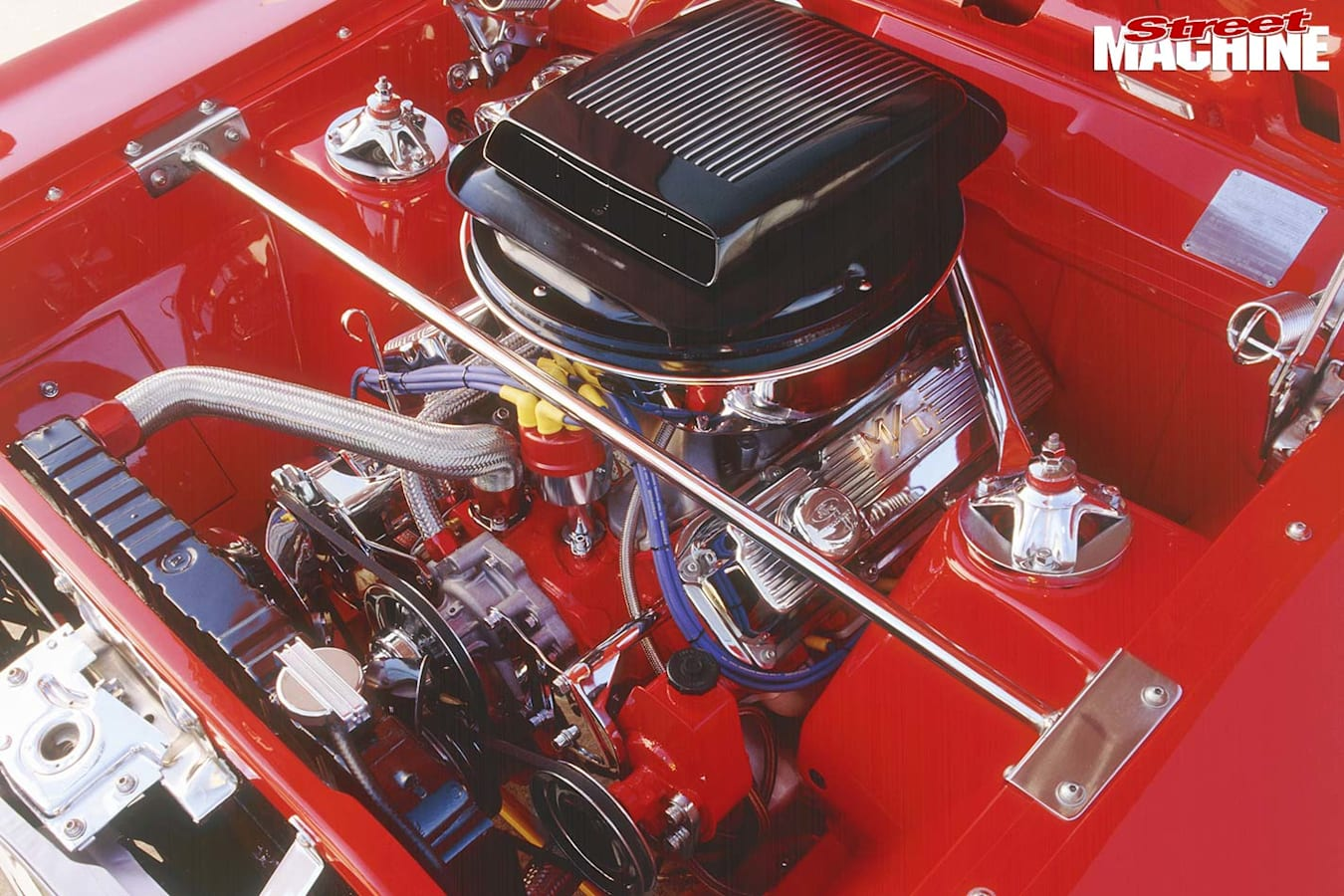 Ford Fairmont engine bay