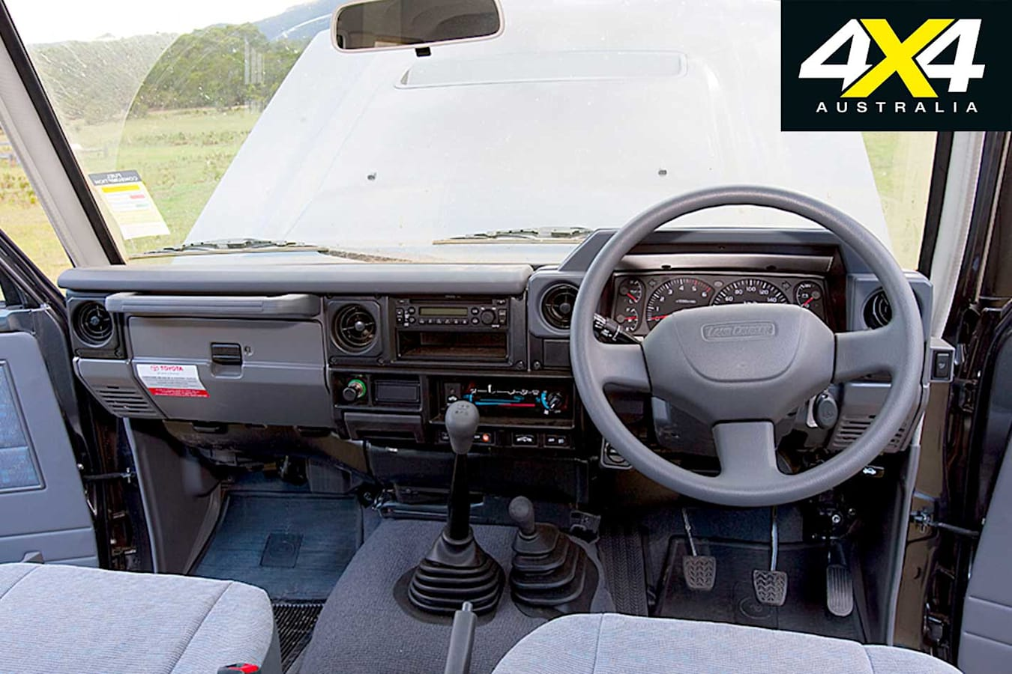 2009 Toyota Land Cruiser 76 Series Interior Jpg
