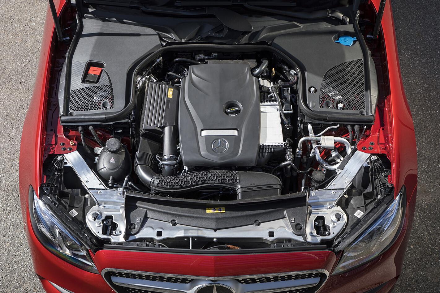 2018 Mercedes Benz E 300 Cabrio Engine Jpg