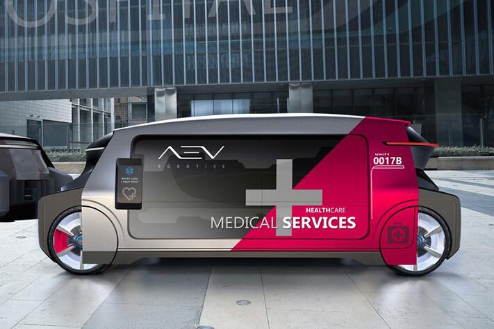 AEV autonomous ambulance