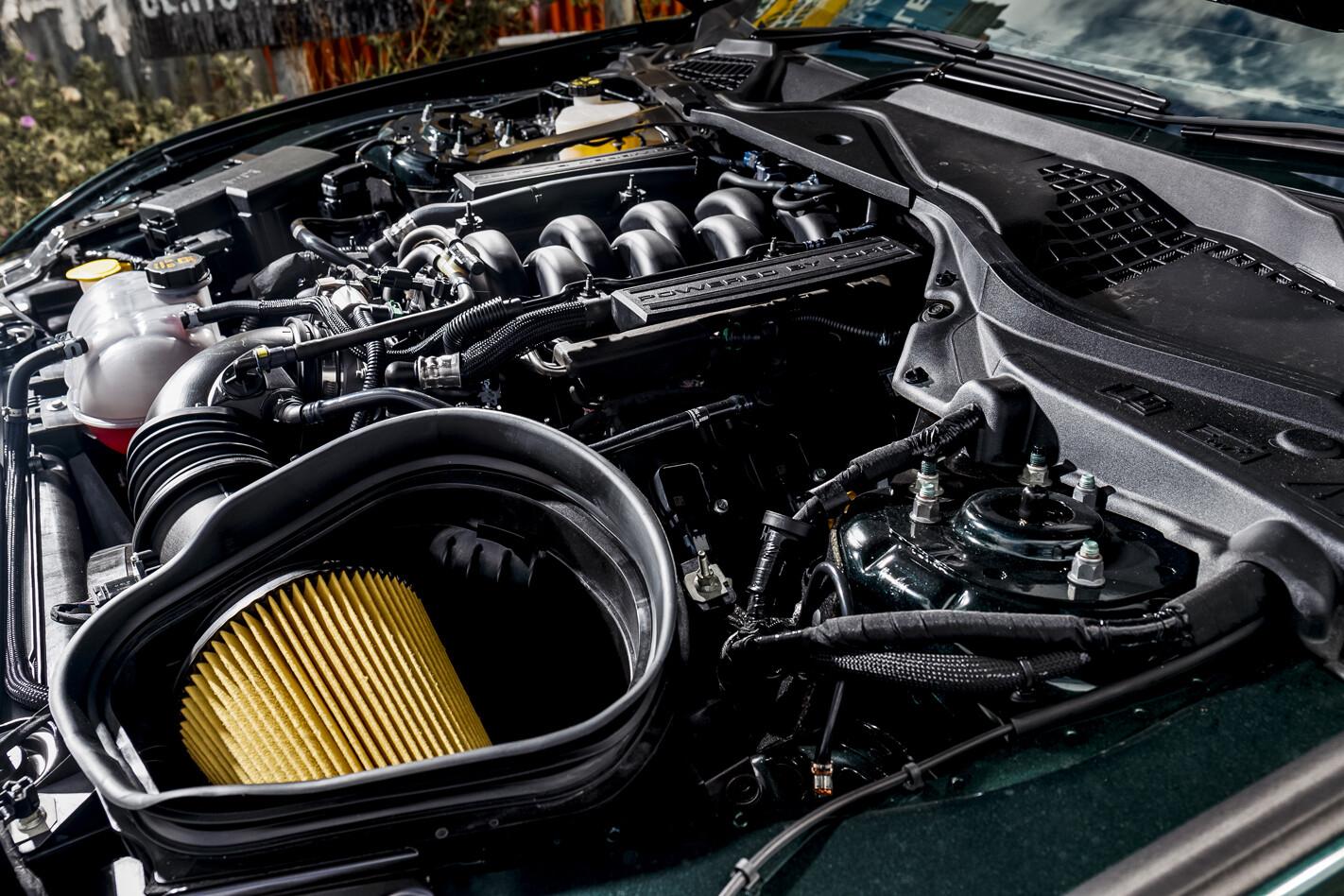 Bullitt Mustang motor