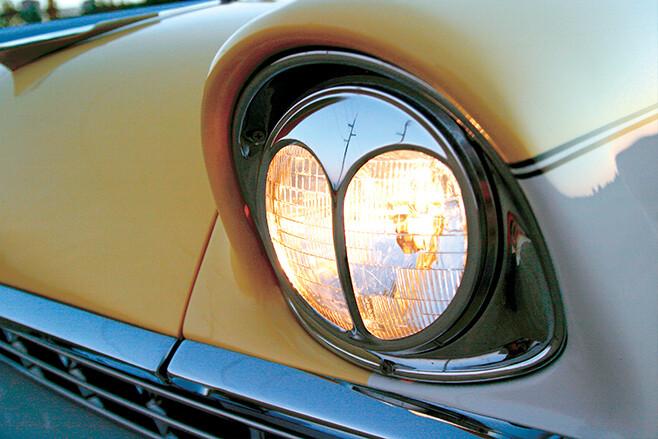 Holden FB coupe headlight