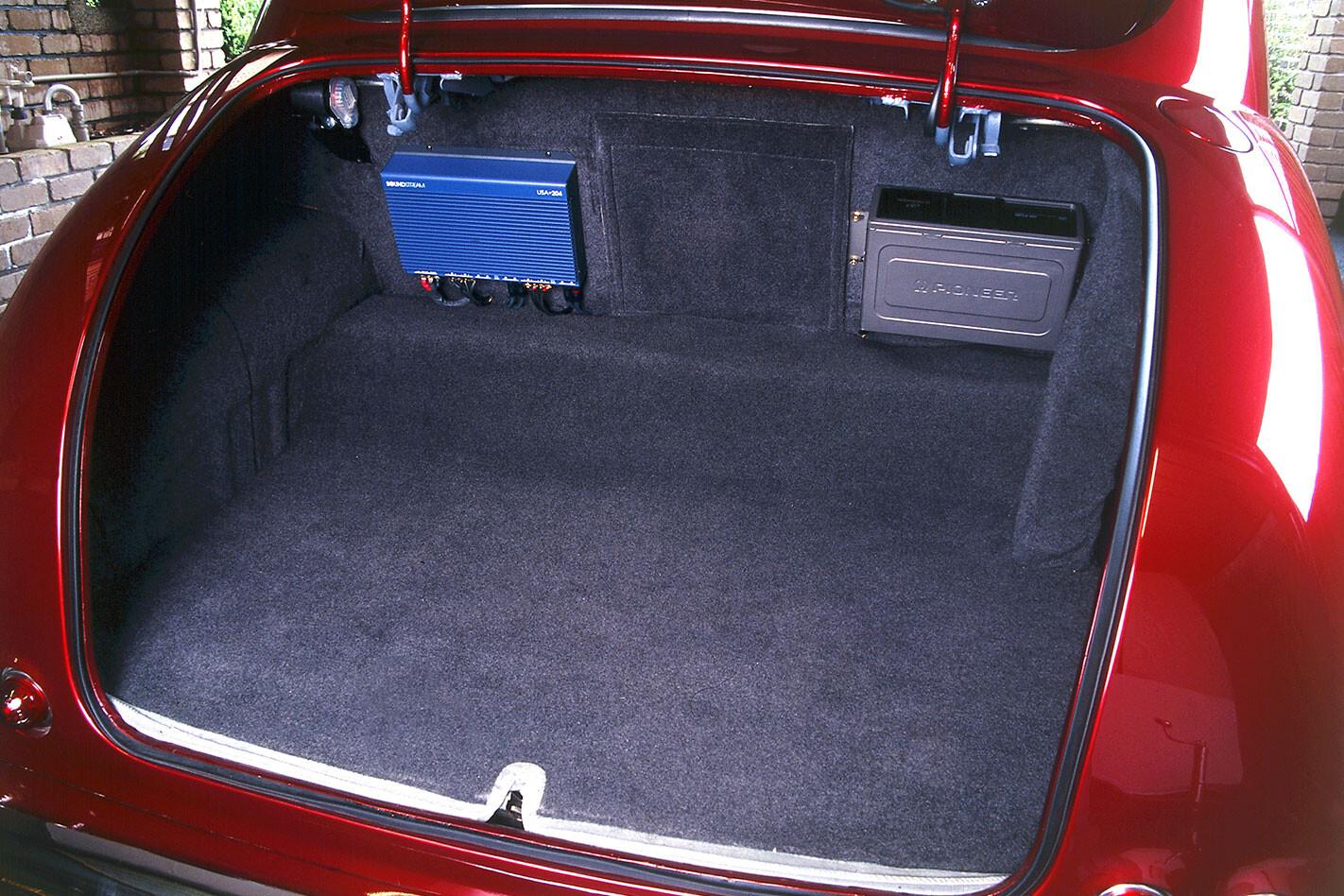 Holden FX boot