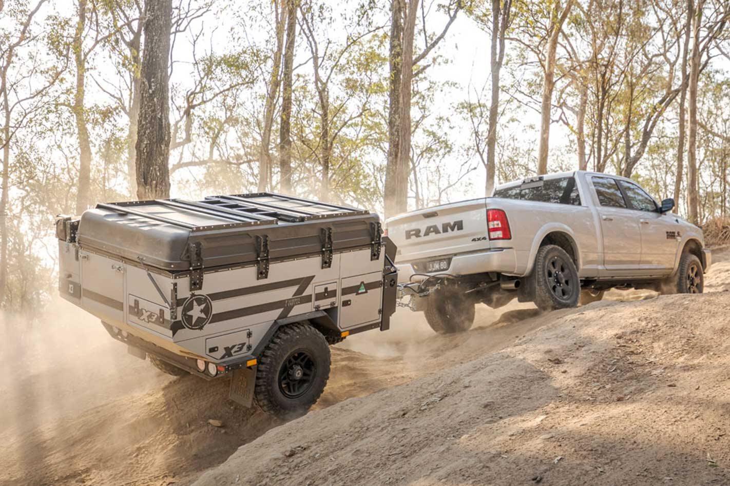Patriot Campers X3 camper trailer introduced