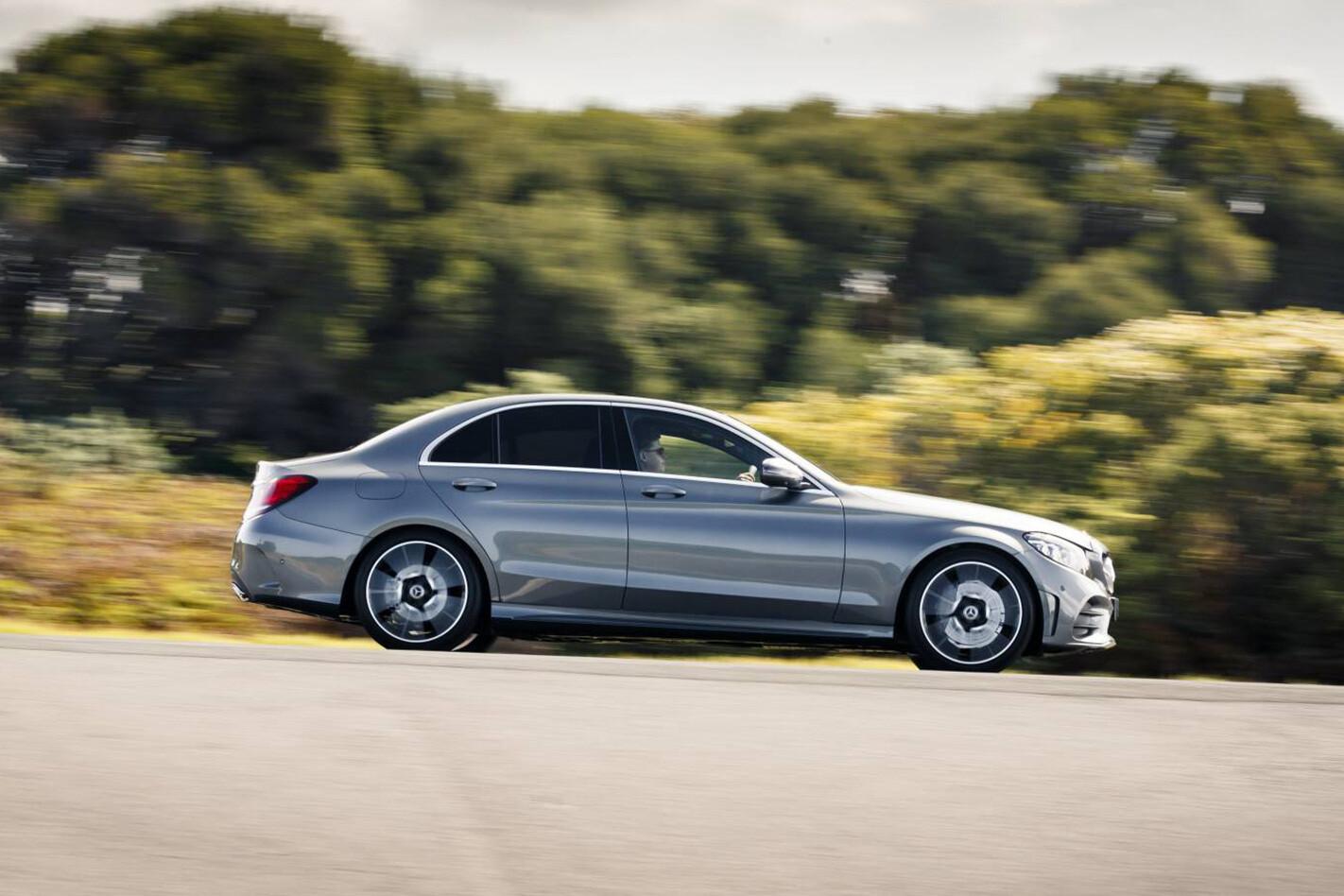 Mercedes C 200 Side On Jpg