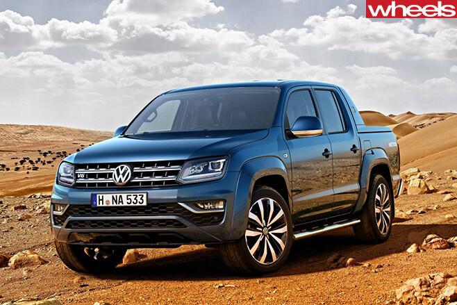 Volkswagen -Amarok -front -side