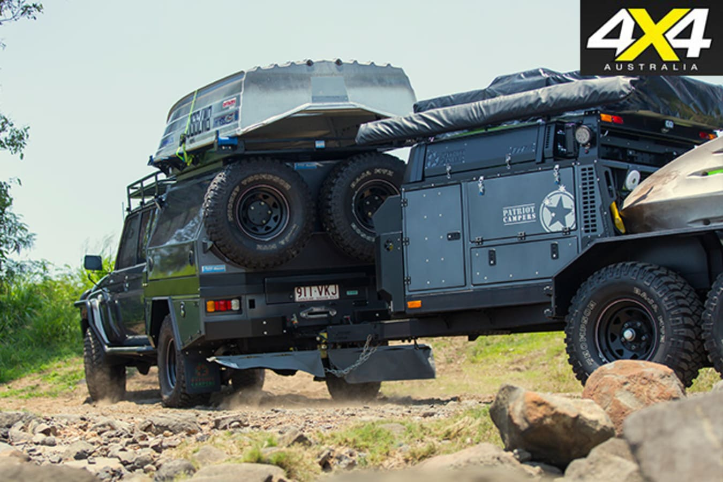 Golitah with trailer rear