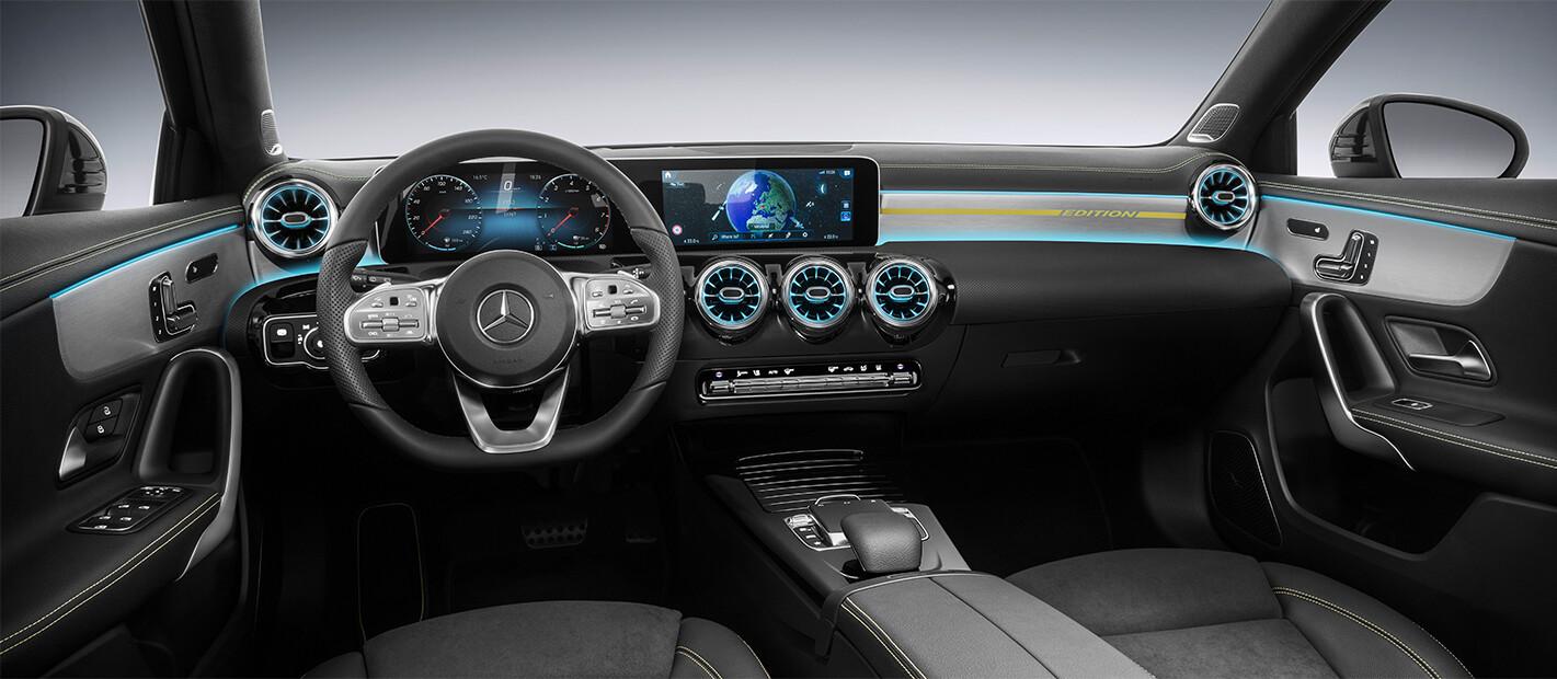 Mercedes A Class Interior Black Jpg