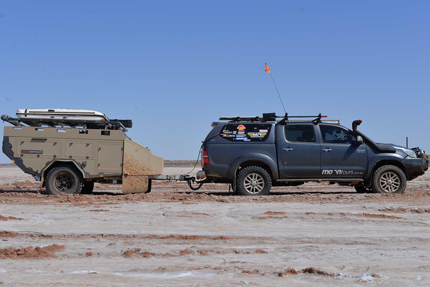 AOR Sierra ZR camper trailer