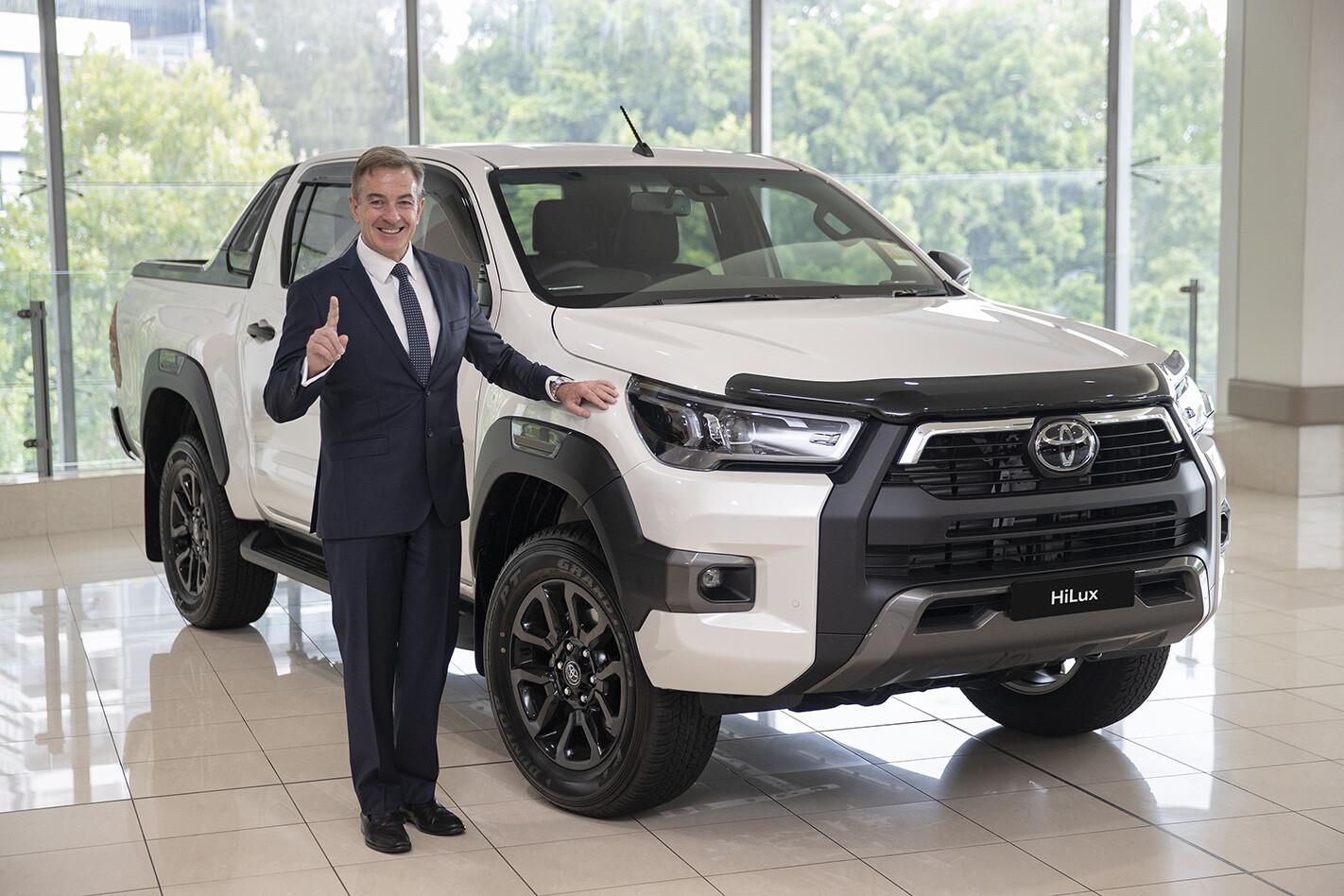 Toyota Australia President and CEO Matthew Callachor