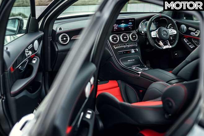 2020 Mercedes AMG GLC 63 Interior Jpg