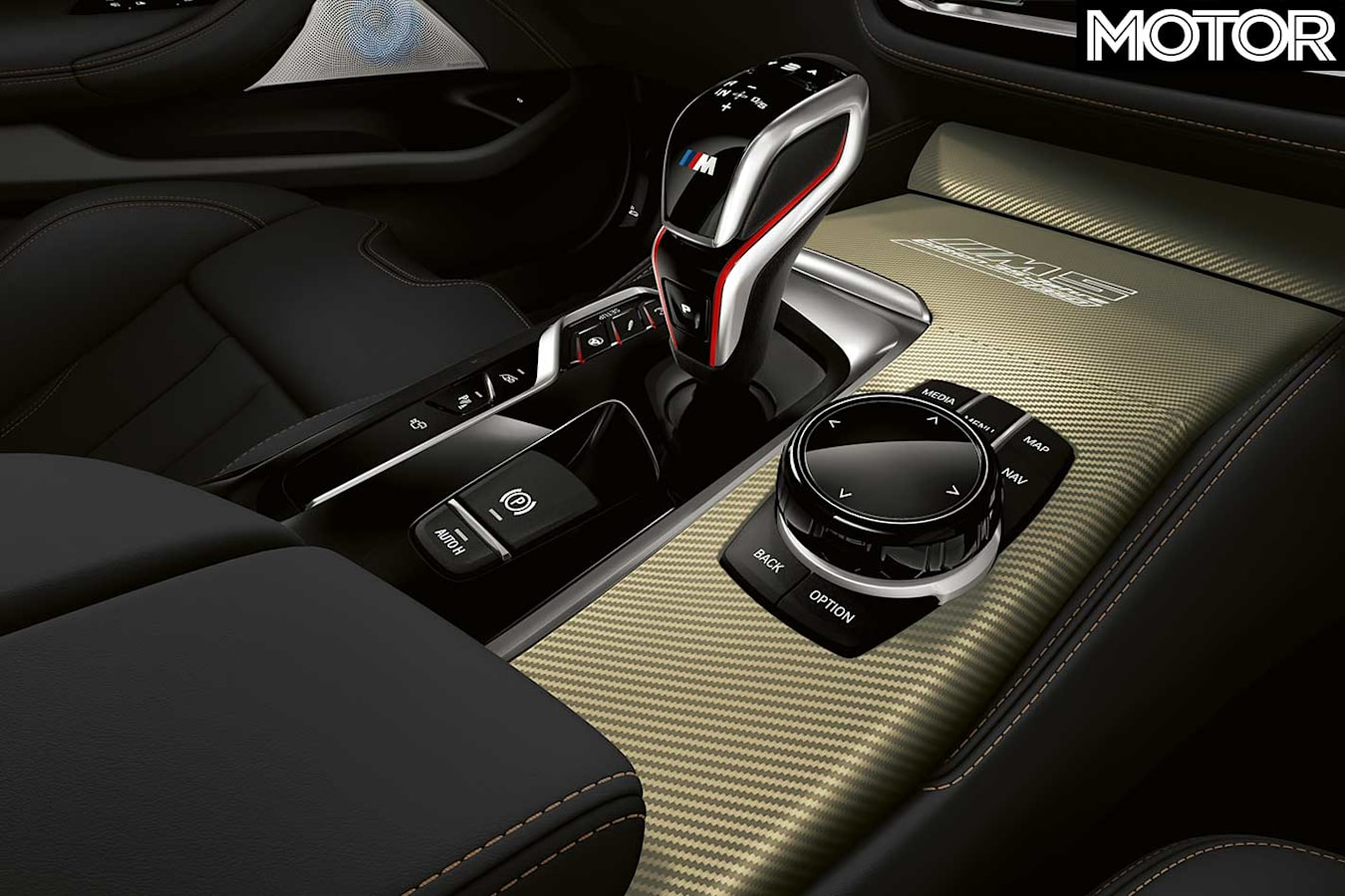 2019 BMW M 5 Edition 35 Years Centre Console Jpg