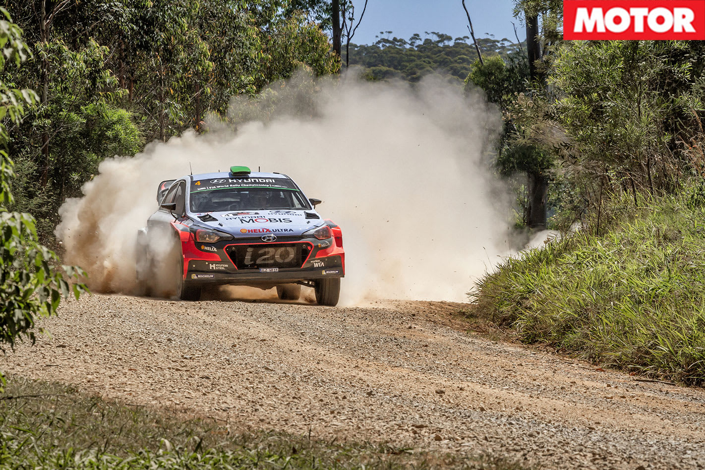 Hyundai i20 WRC Passenger Ride cornering