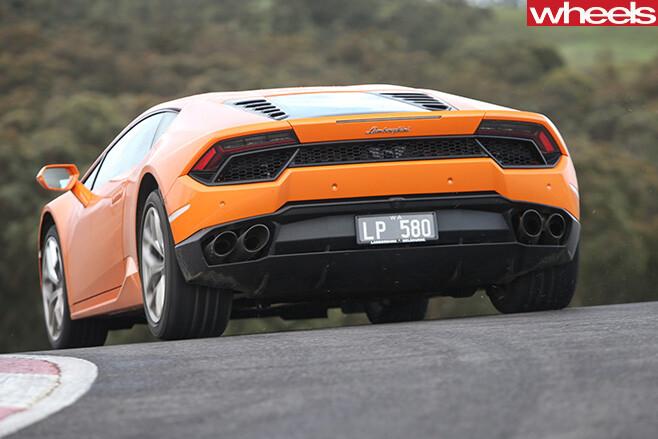 Lamborghini -Huracan -rear