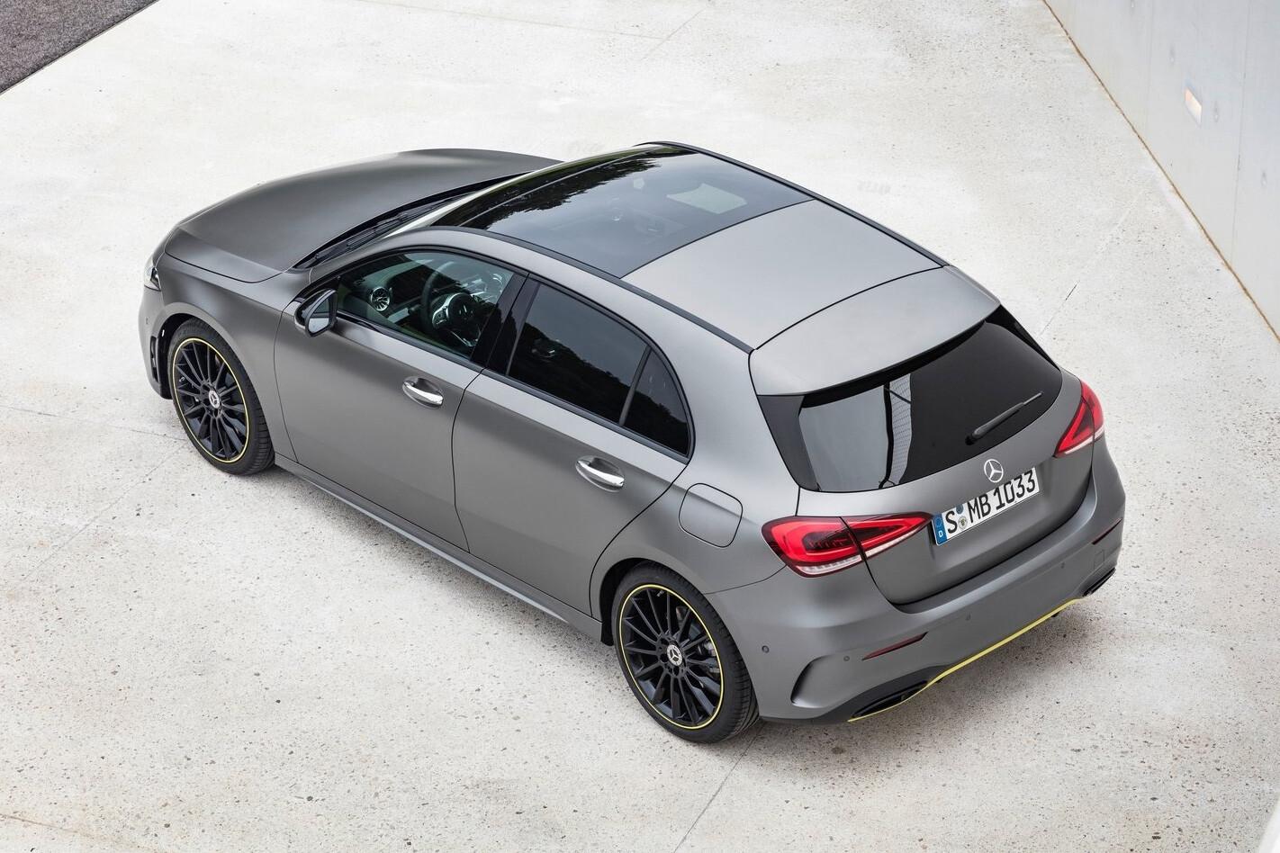 Mercedes A Class Rear Side High Jpg