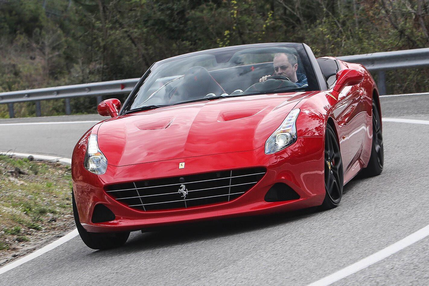 Ferrari California Driving Mountain Jpg