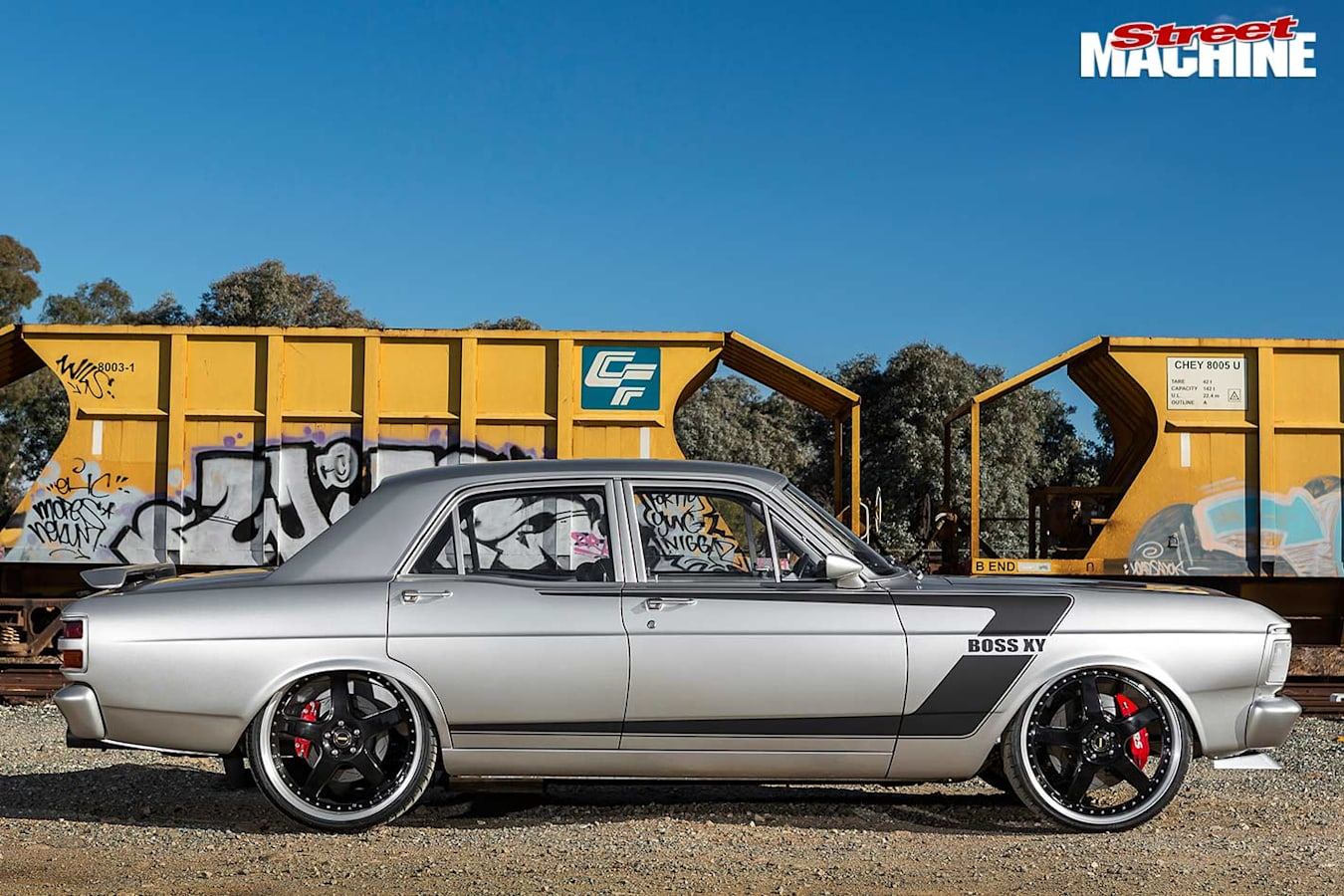 Ford XY Falcon side
