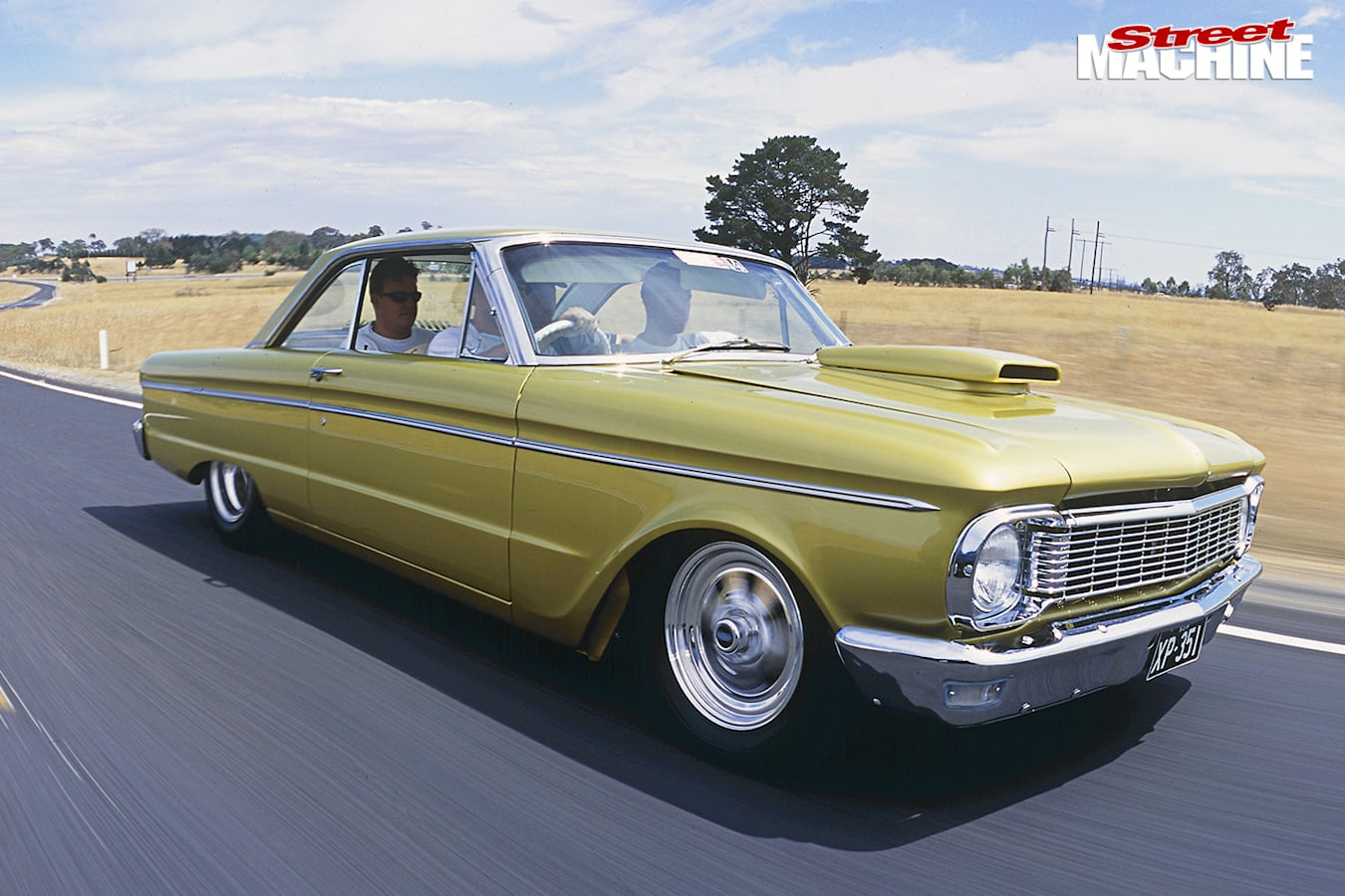 Ford Falcon XP onroad