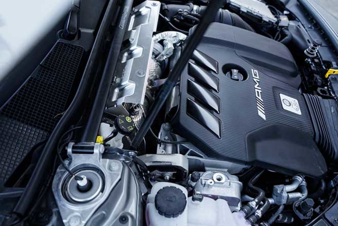 AMG's 2.0-litre turbo four produces 310kW and 500Nm