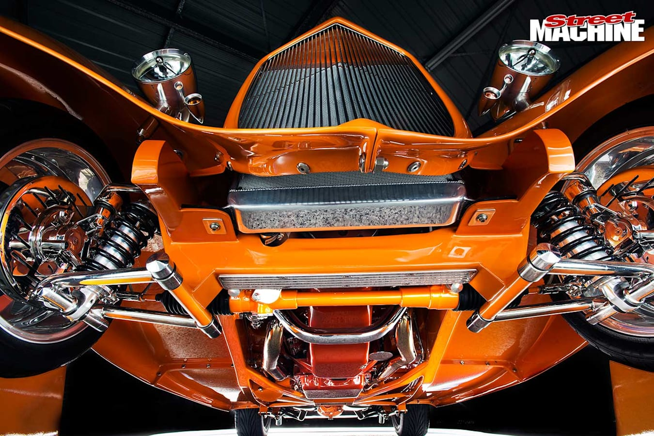 Ford three window coupe under