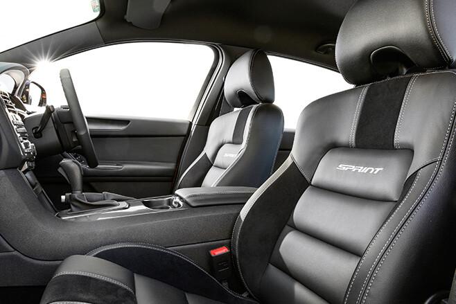 Ford Falcon XR8 interior