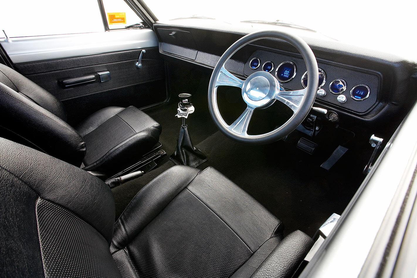 Chrysler VG Valiant ute interior