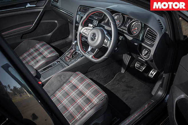 Golf GTi Performance interior