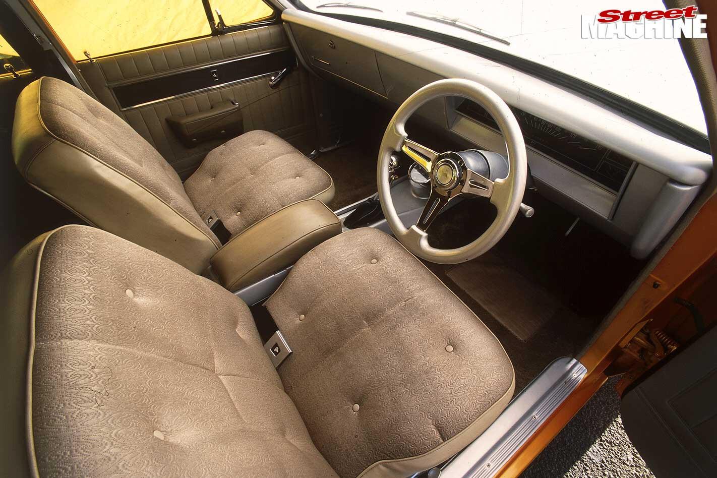 Holden HK Premier interior