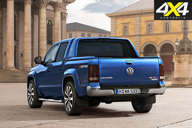 New volkswagen amarok V6tdi rear