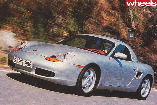 1996-Porsche -Boxster -986-driving