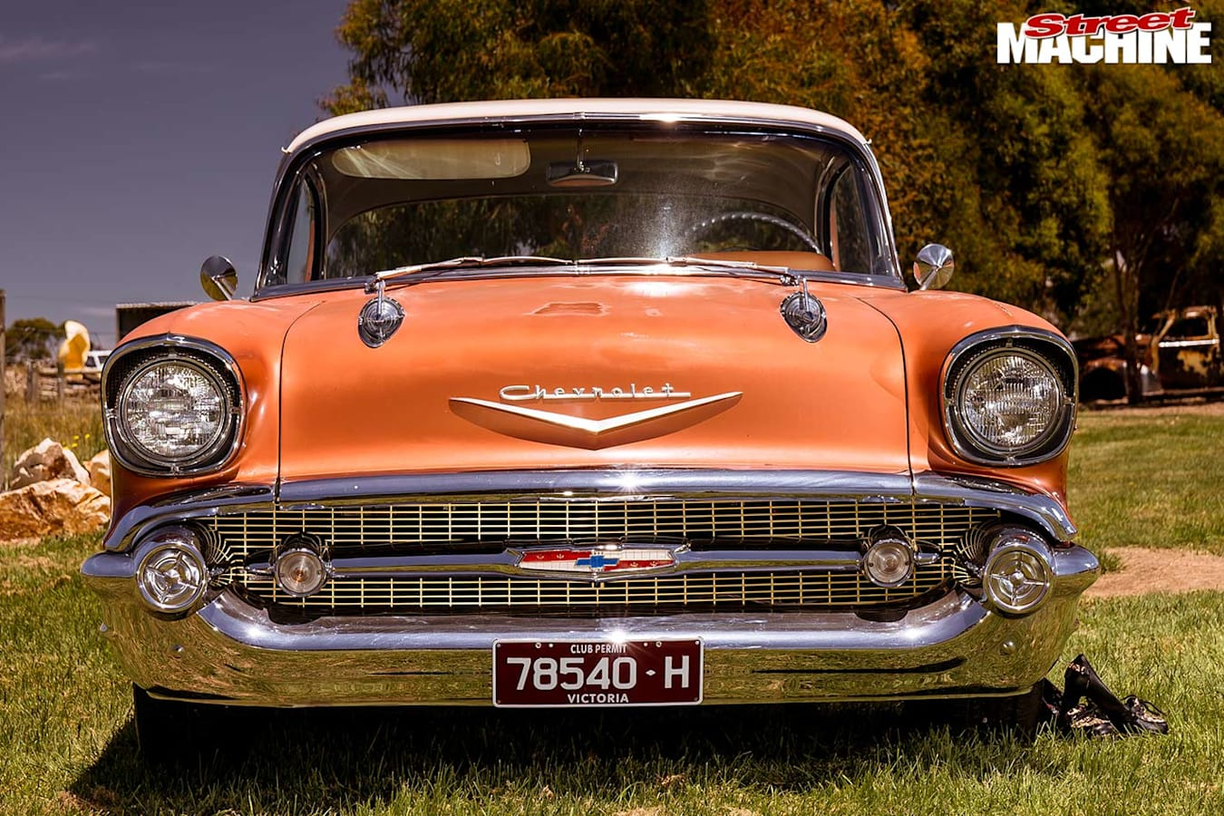 1957 Chev Bel Air front