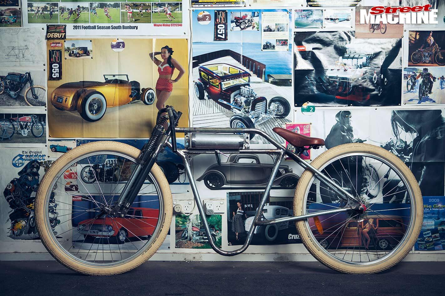 Alex Wells pushbike