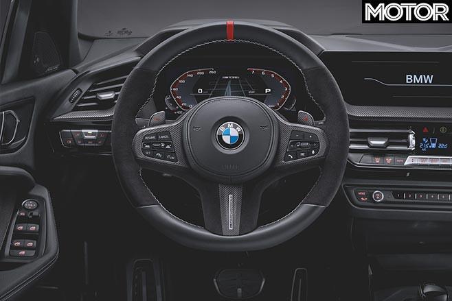 2020 BMW M135i M Performance steering wheel