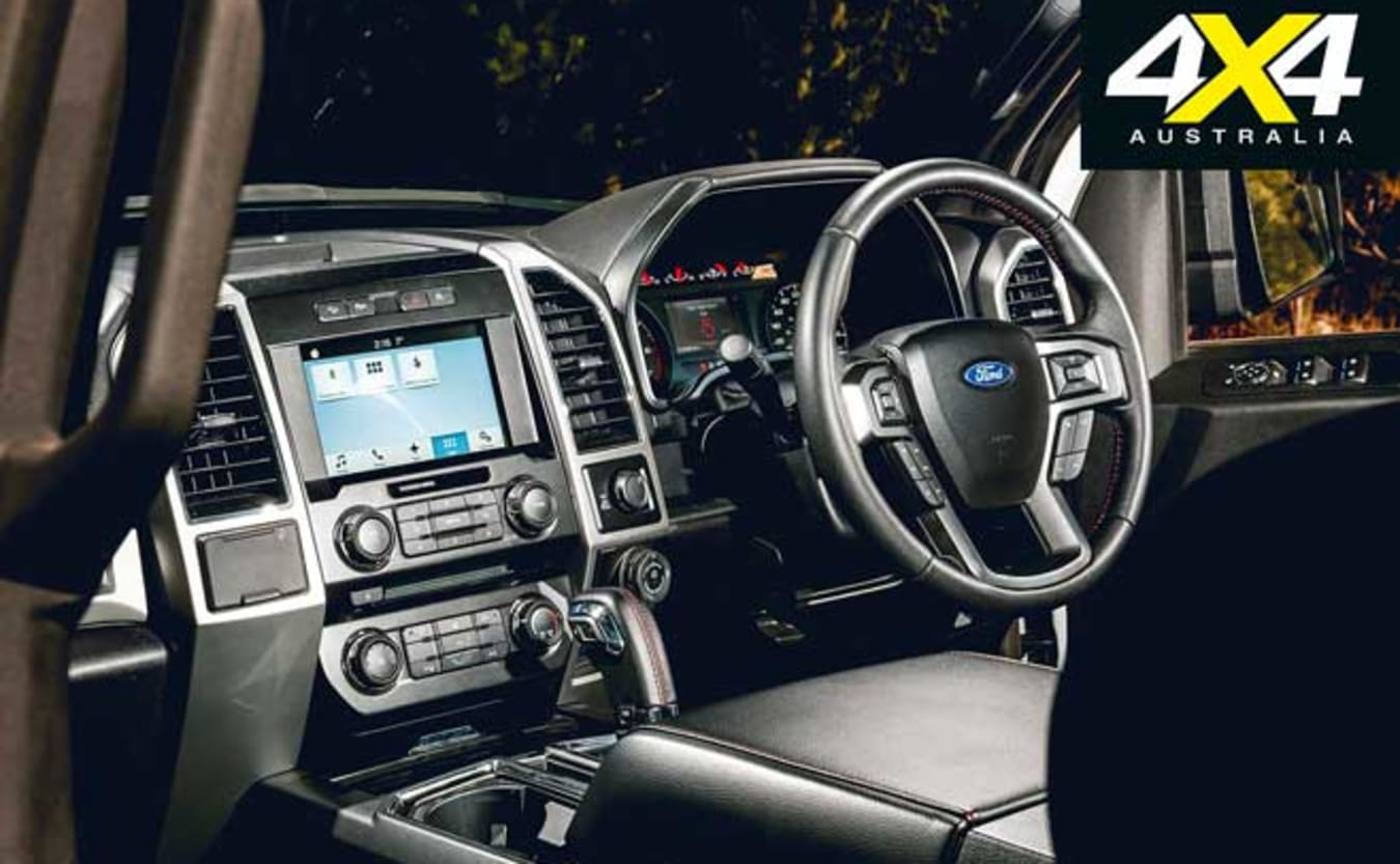 2019 Tickford Ford F-150 interior quality space