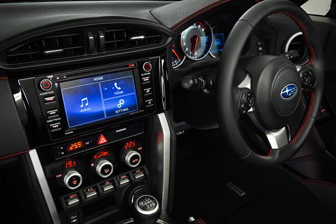 2017 Subaru BRZ - interior
