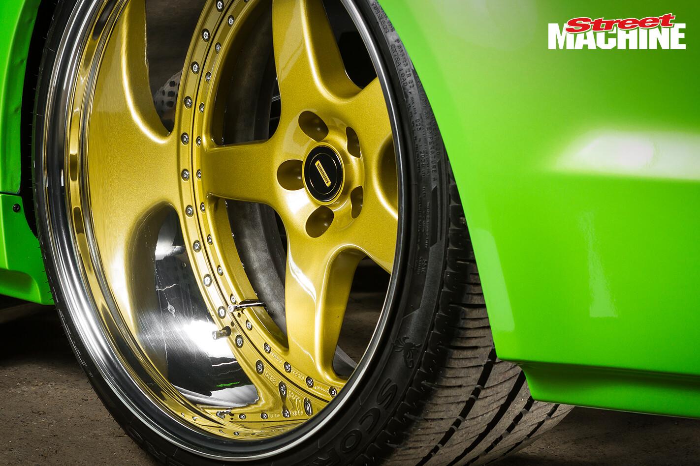 Holden VE Ute Blown LS Simmons Wheel