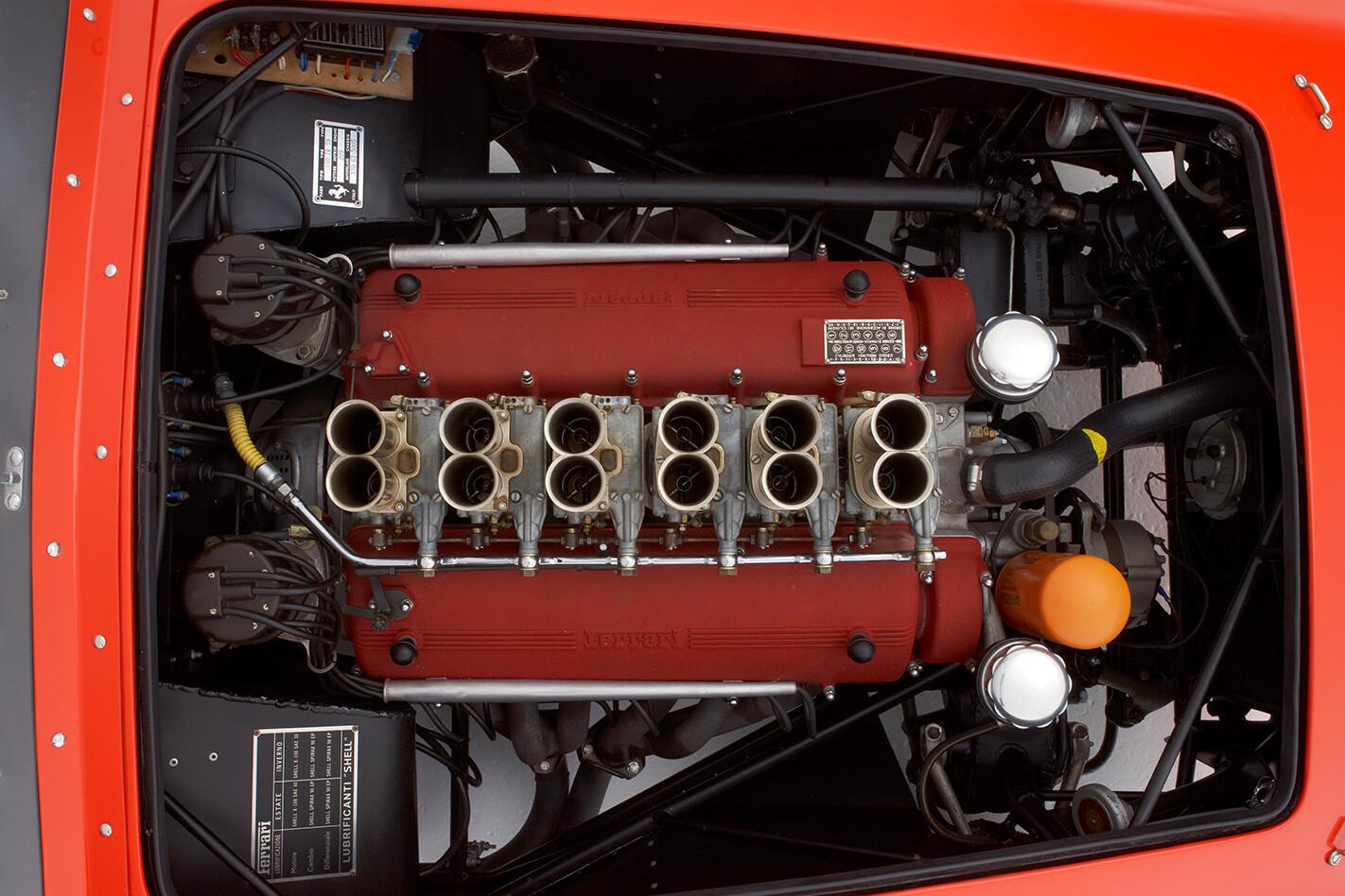 1959 Ferrari 250 Testa Rossa engine