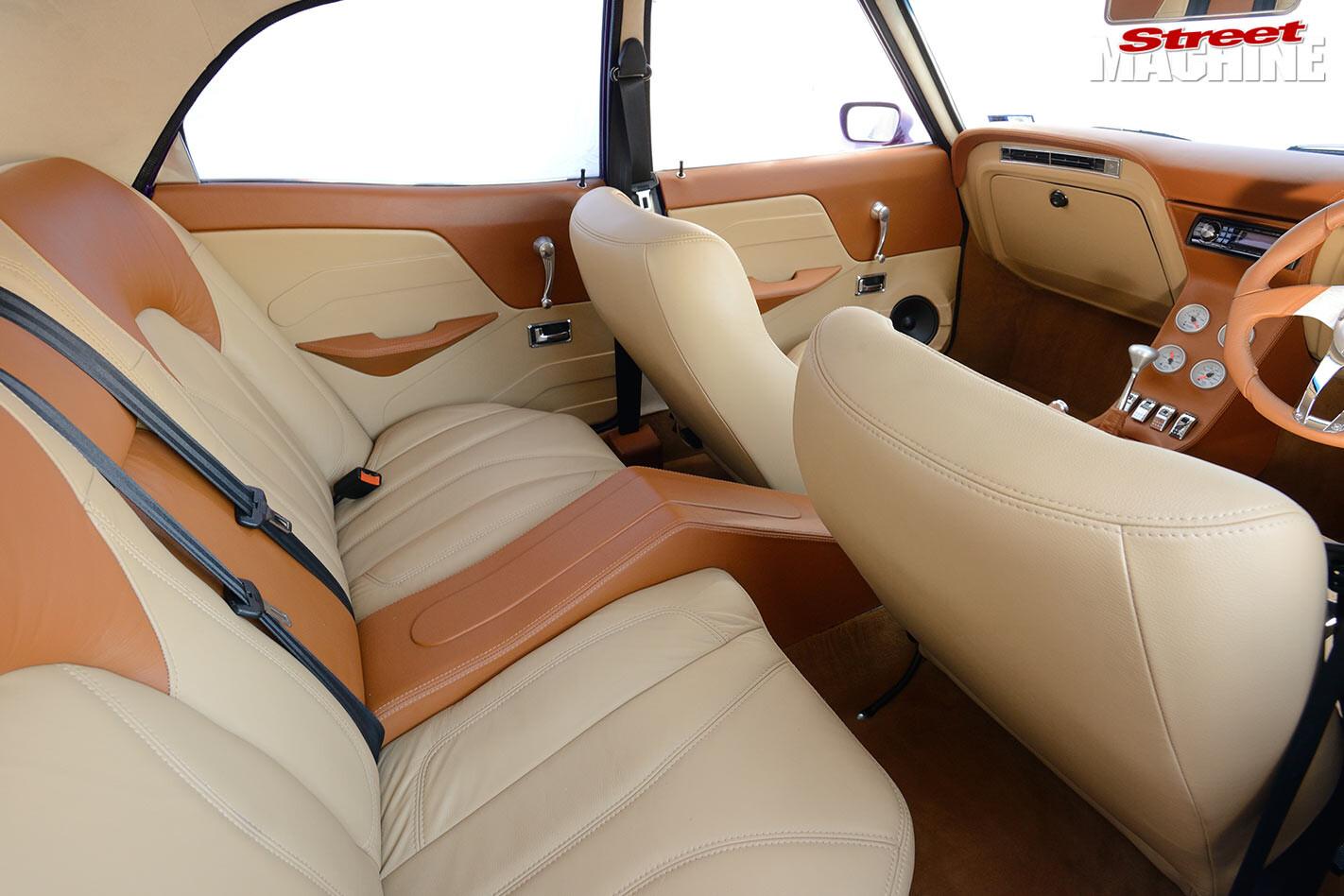 Ford Cortina interior