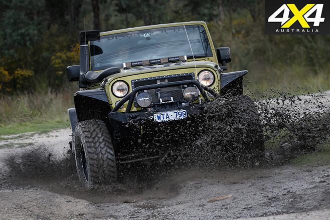 Custom jeep wrangler unlimited mud