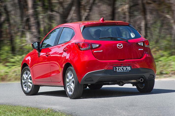 Mazda 2 Rear Jpg