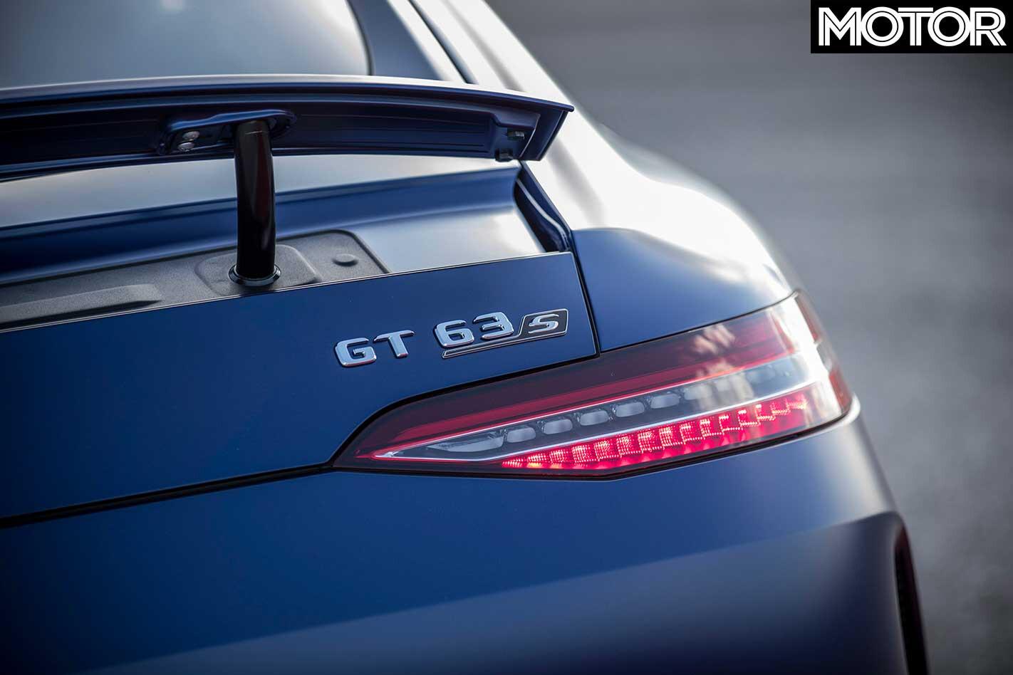 2019 Mercedes AMG GT 63 S 4 Door Rear Badge Jpg
