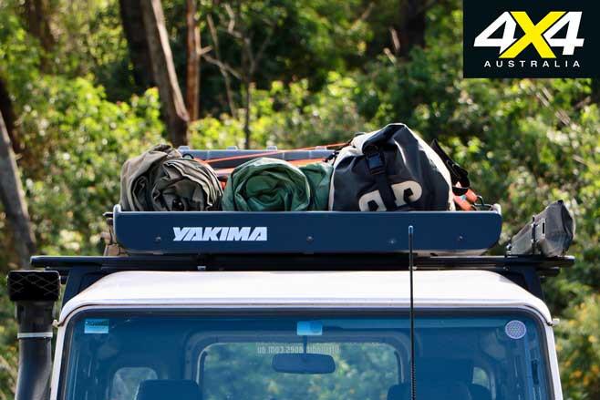 Yakima MegaWarrior cargo basket roof rack accessories