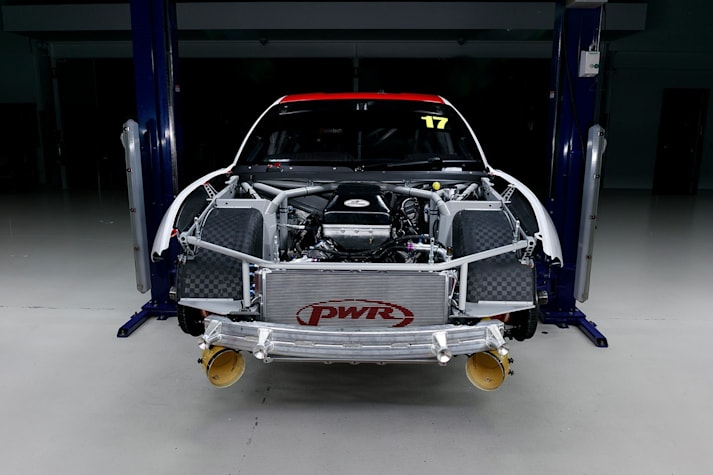 Coyote V8 Ford Mustang Supercars