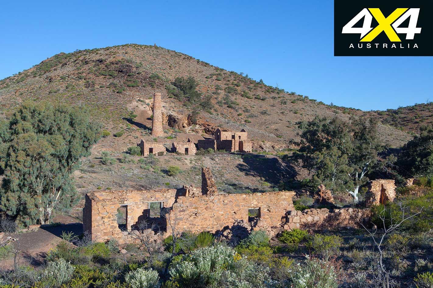4 X 4 Trip Through The Copper Track Nuccaleena Mine Ruins Jpg